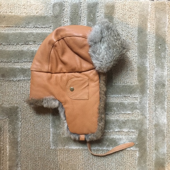 mad bomber Other - MAD BOMBER - Saddle Rabbit fur trapper hat Tan 9852dcf0f890